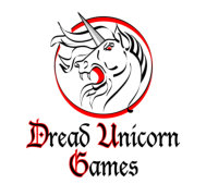 Dread Unicorn Games Logo