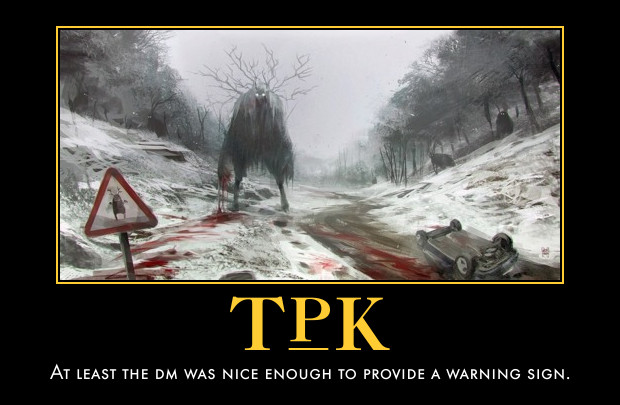 GM Musings: The TPK | Guilt Free Games
