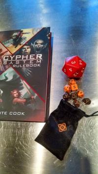 Cypher System; Dread Unicorn Games