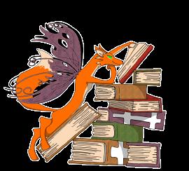 wordfey - lone fox - Sticker