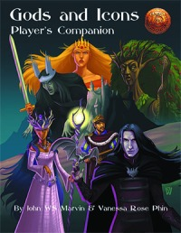 Gods and Icons Player's Companion; Dread Unicorn Games
