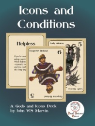 Dread Unicorn Games - Icons and Conditions Cards - 13th Age