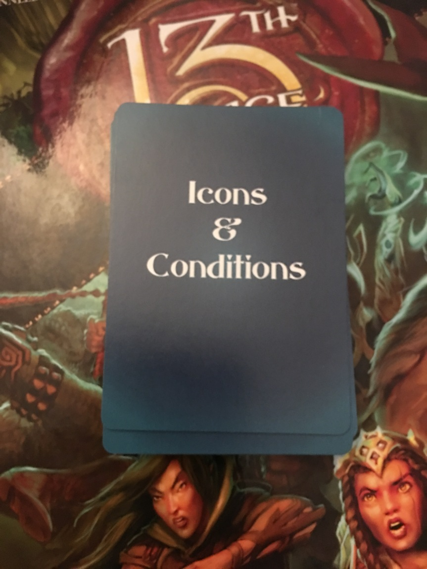 Icons and ConditionsReview