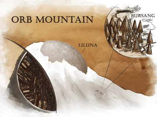 Commisions Numenera Orb Mountain